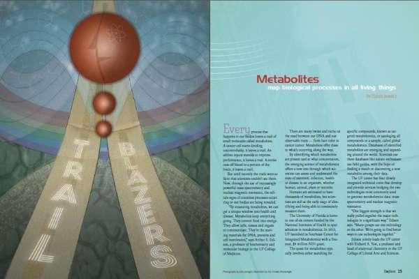 Explore Magazine Metabolomics Story