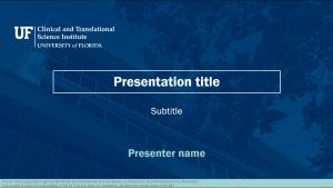 Widescreen PowerPoint template