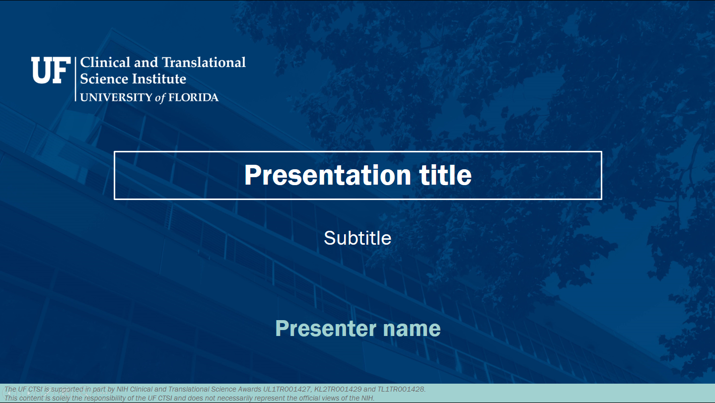 Digital materials clinical and translational science institute widescreen powerpoint template toneelgroepblik Images