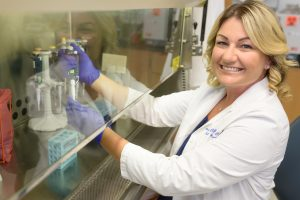 Amber Bouton, CCRP/CCRC, clinical research/IRB director in the UF department of medicine, division of surgery