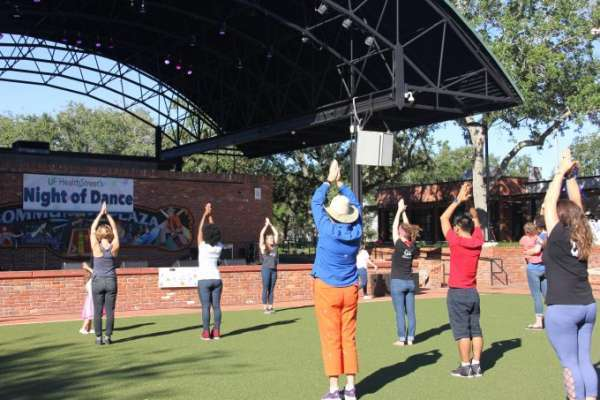 HealthStreet Night of Dance at Bo Diddley Plaza