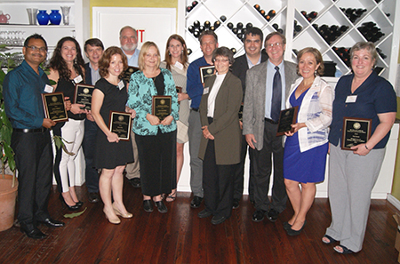 The third cohort of investigators completed the master certificate program and became members of the academy following an awards dinner in June 2014.