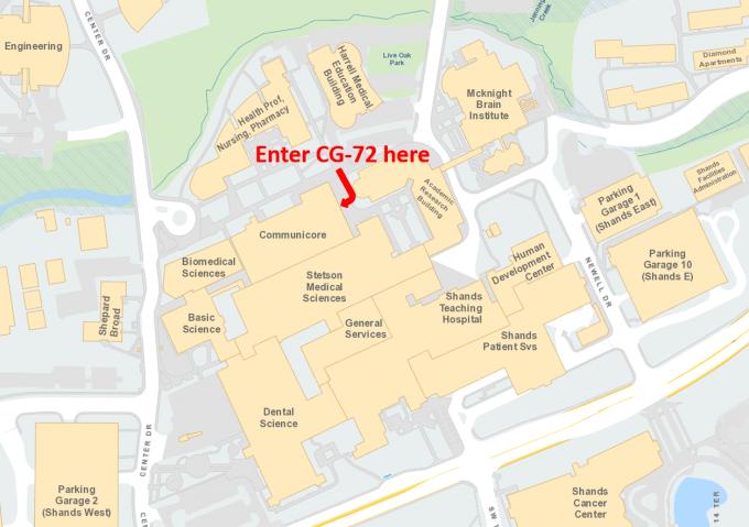 Where to enter CG72