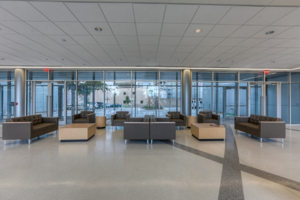 Lobby of the Clinical and Translational Research Building