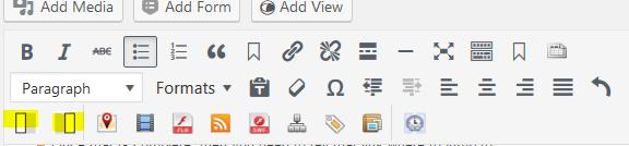WYSIWYG editor example