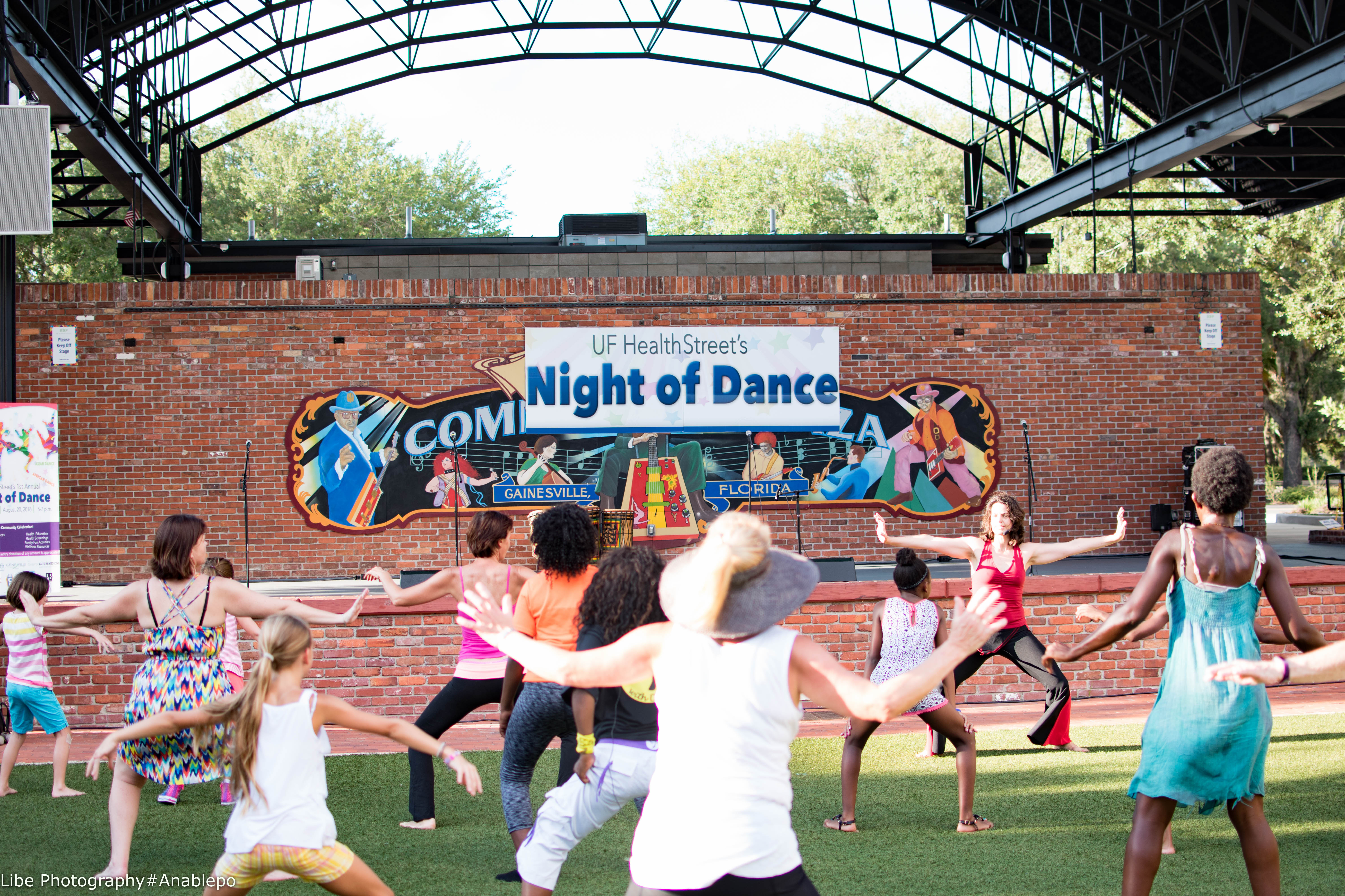 HealthStreet's Night of Dance brings together a cross-section of Gainesville's diverse communities.