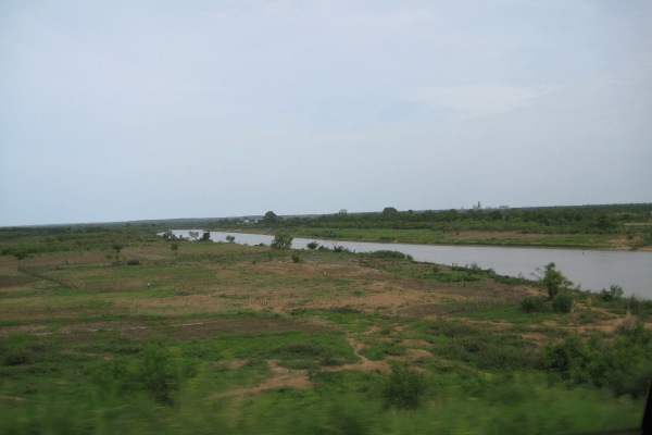 The White Volta River, Northern Ghana, West Africa