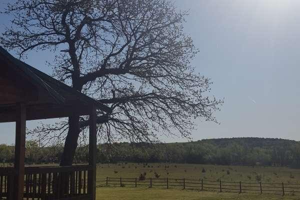 Morning in central Oklahoma.