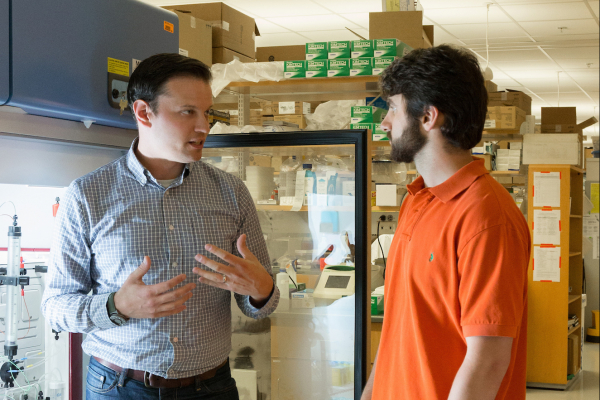 Biomedical science collaboration between a teacher and student