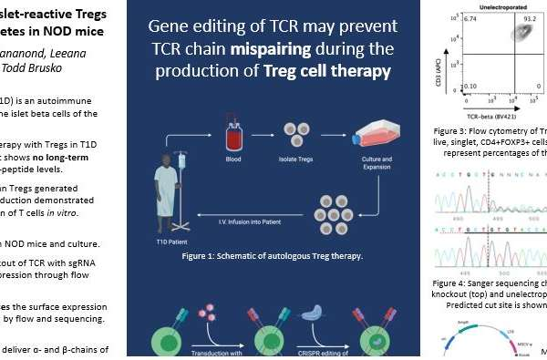 Generation of islet-reactive Tregs to prevent diabetes in NOD mice