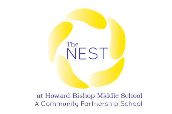 The Nest Howard Bishop Middle School Logo
