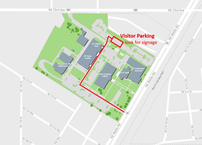 FLRDC parking