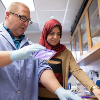 Robert Huigens, Ph.D., assistant professor of medicinal chemistry